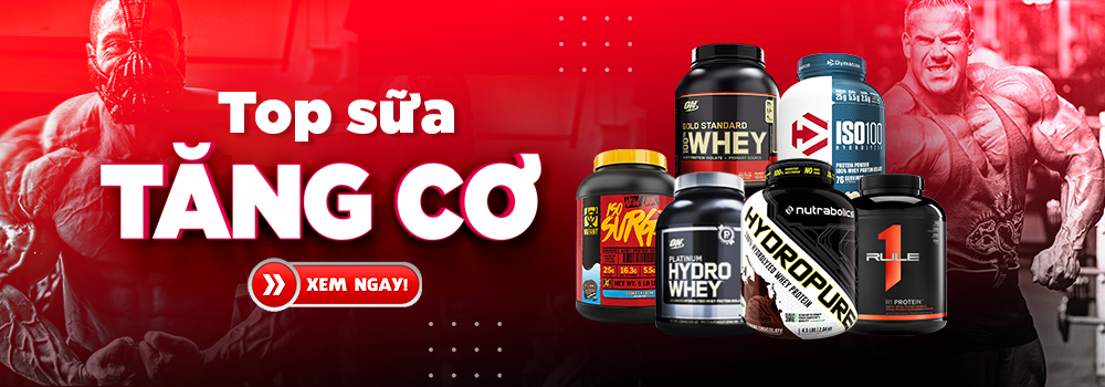 Top các loại whey protein
