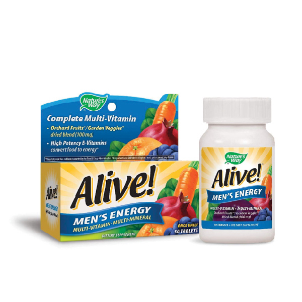 Alive Men's Energy 50 viên