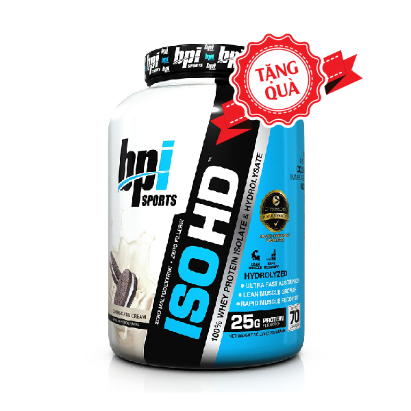 BPI ISO HD 5lbs 100% Isolate