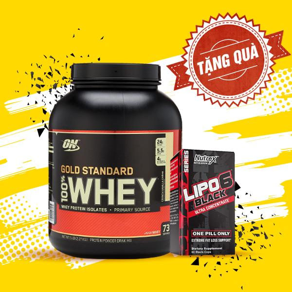 Combo Whey Gold 5lbs + Lipo 6 Black 60 servings