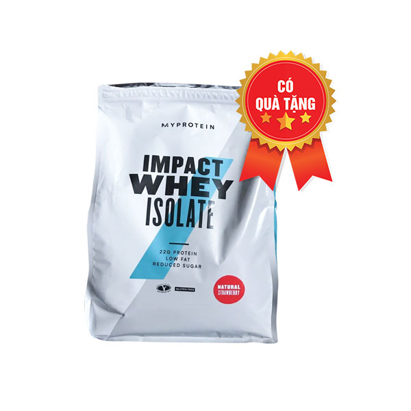 Impact whey isolate 2.5kg 100 servings