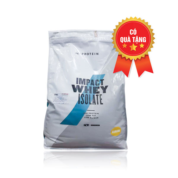 Impact whey isolate 5kg 200 servings
