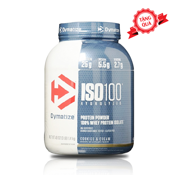 ISO 100 Isolate 100% 5 Lbs (2,27kg)