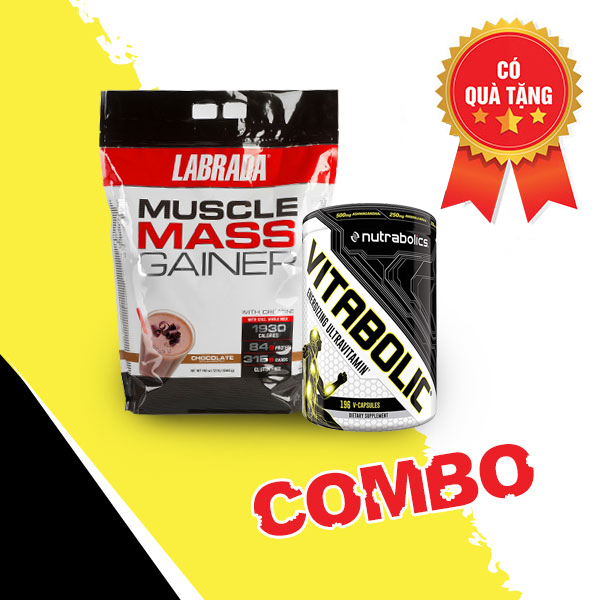 Muscle Mass Gainer + Vitabolic