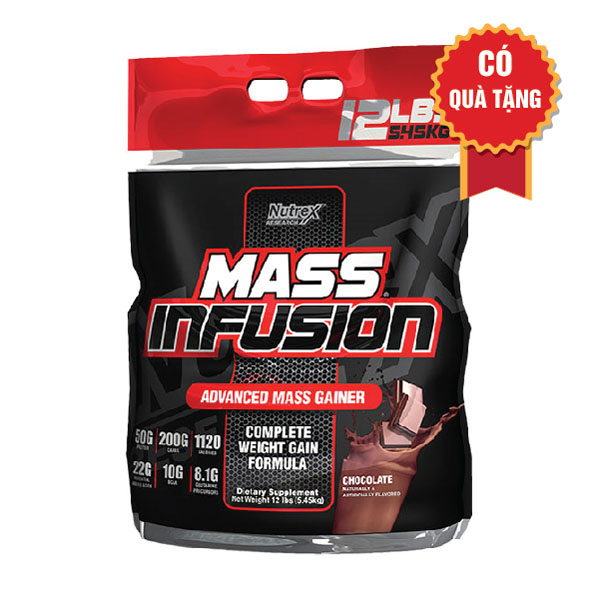 Nutrex Mass Infusion 12lbs 5.45kg
