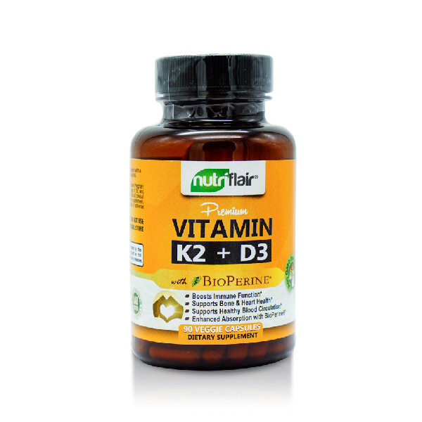 Nutriflair Vitamin K2 + D3