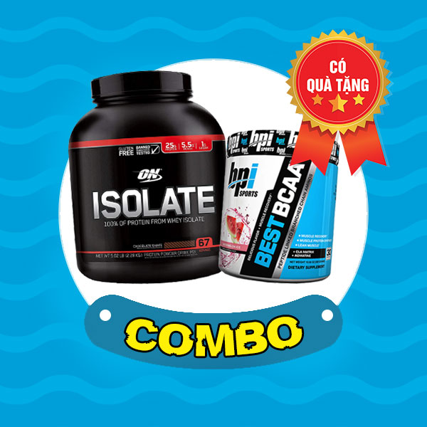 On Isolate 5lbs + Best BCAA 30 servings