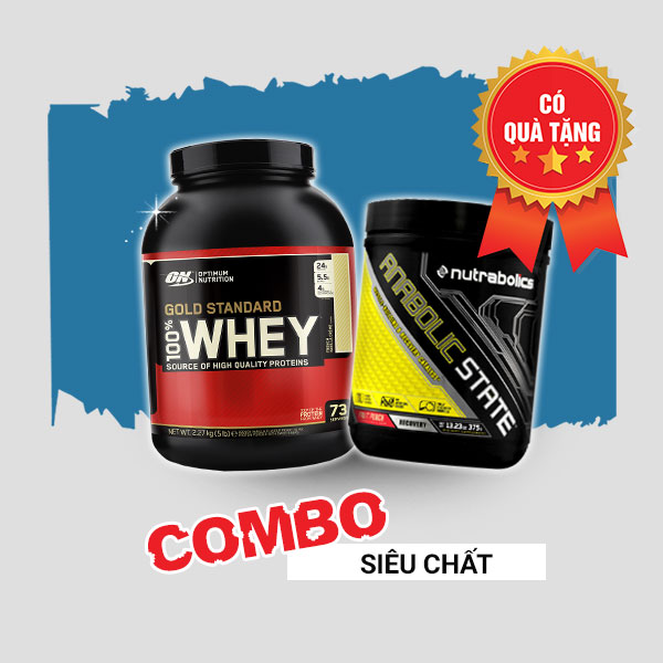Whey Gold 5lbs + Anabolic State 70 servings