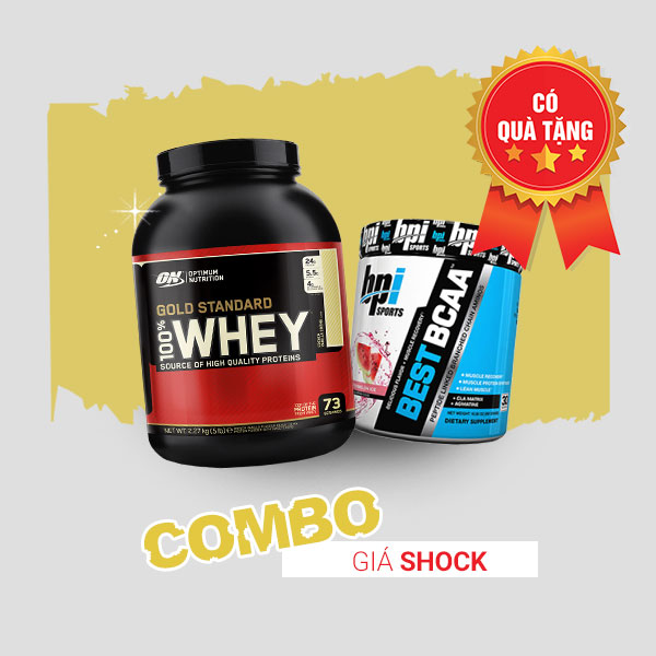 Whey gold 5lbs +Best BCAA 30 servings