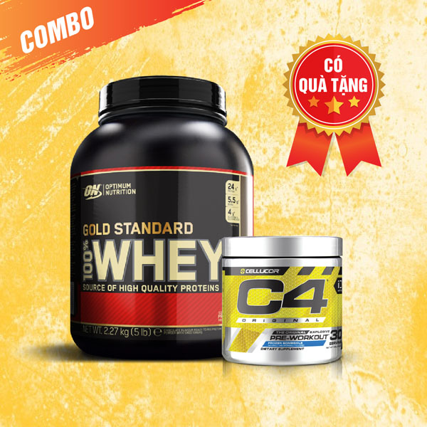 Whey Gold 5lbs + C4 30 servings