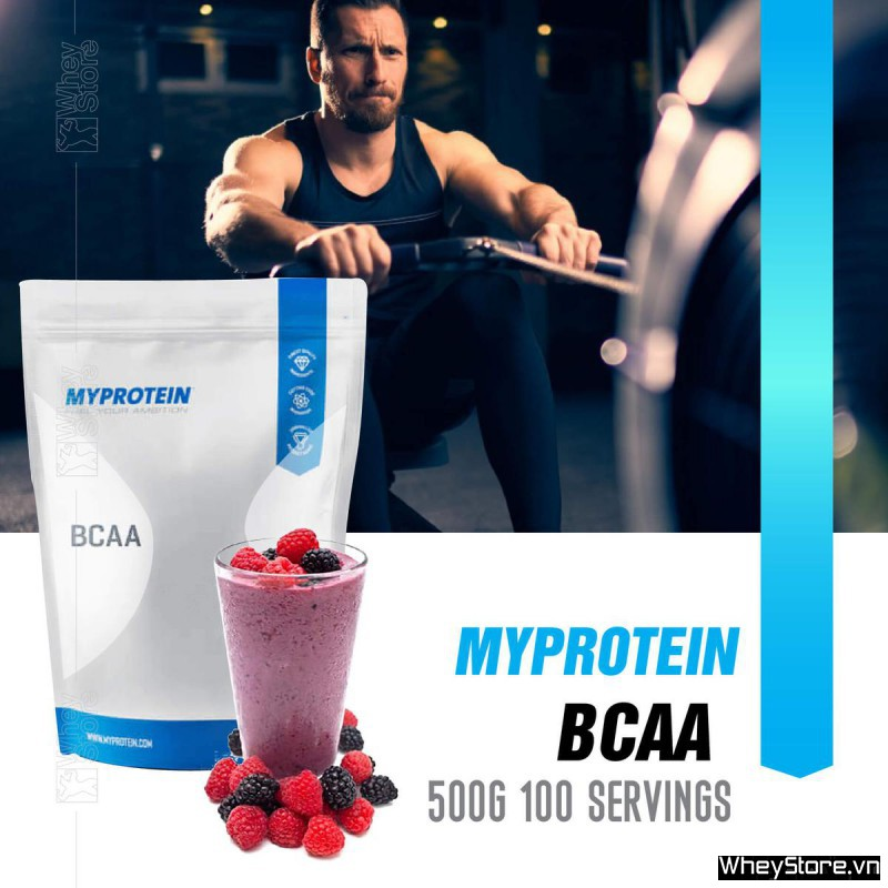 MyProtein BCAA 500g 100 servings