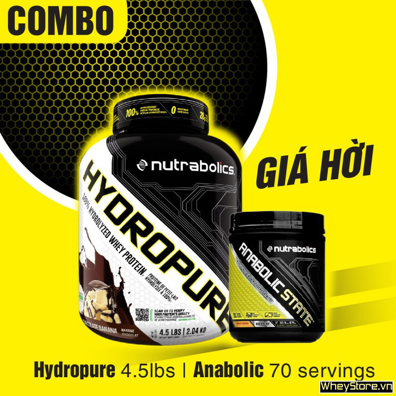 Hydropure 4.5lbs + Anabolic State 70 servings