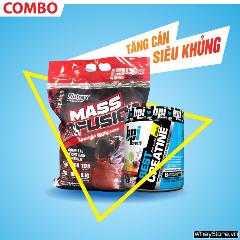 Mass Infusion 12lbs + Best Creatine 50 servings
