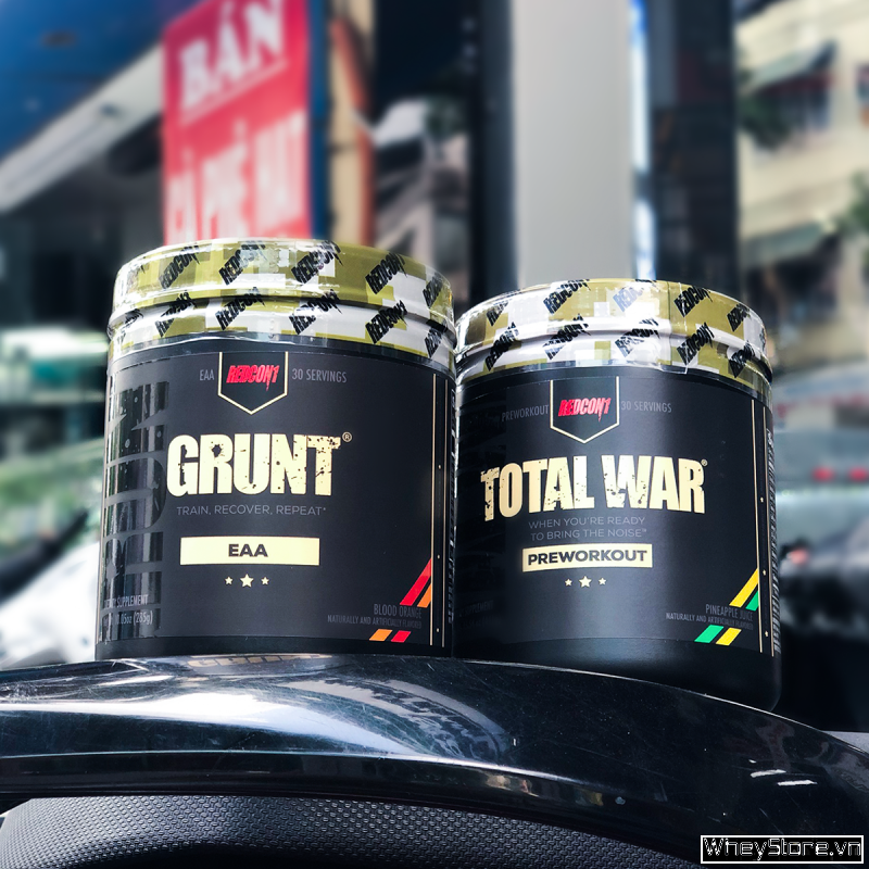 Total War 30 servings + Grunt EAA 30 servings