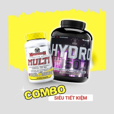 Hydro Iso 2kg + Mammoth Multi 30 servings