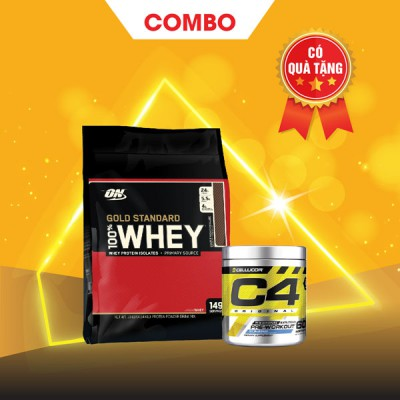Whey Gold 10lbs + C4 30 servings
