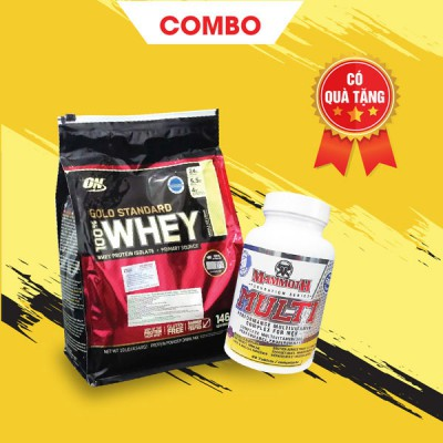 Whey Gold 10lbs + Mammoth Multi 30 servings