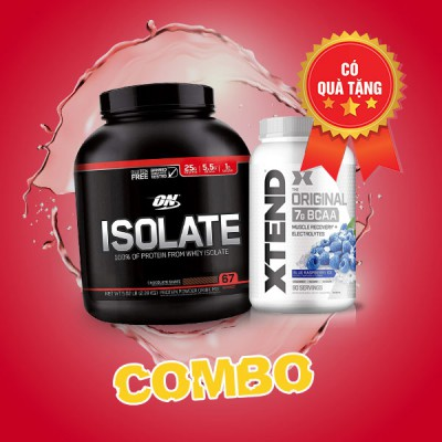 ON isolate 5lbs + Xtend BCAA 90 servings