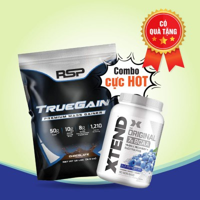 True Gain 12lbs + Xtend BCAA 90 servings