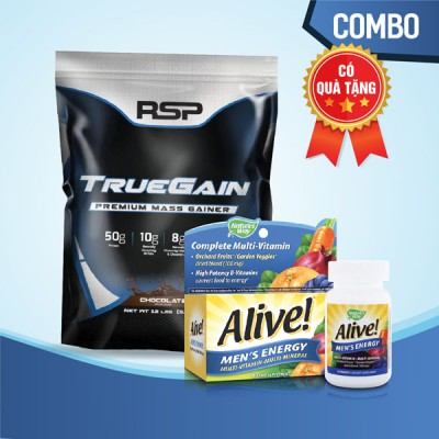 True gain 12lbs + Alive Men's