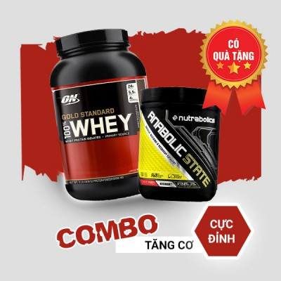 Whey Gold 2lbs + Anabolic State 70 servings