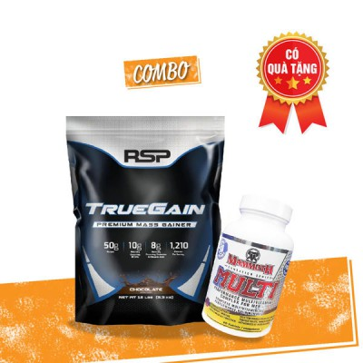 True gain 12lbs + Mammoth Multi 30 servings