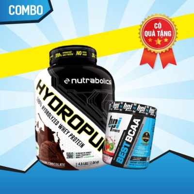 HydroPure 4.5lbs + Best BCAA 30 servings