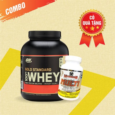 Whey Gold 5lbs + Mammoth Multi 30 servings