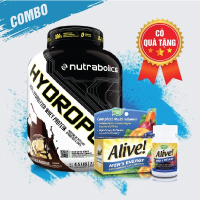 Hydropure 4.5lbs + Alive Men's Energy