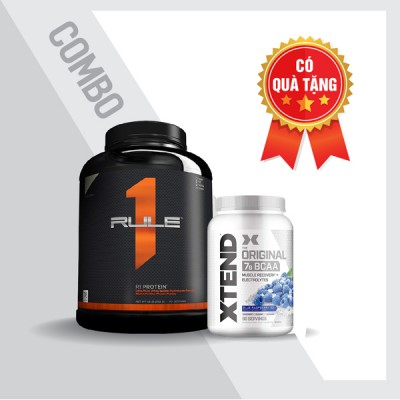 Rule1 5lbs + Xtend BCAA 90 servings