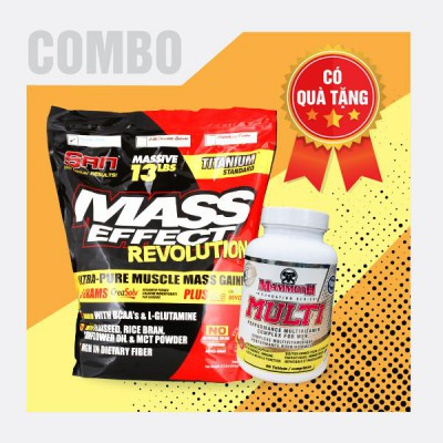Mass effect 13lbs + Mammoth Multi 30 servings
