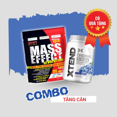 Mass Effect 13lbs + Xtend BCAA 90 servings