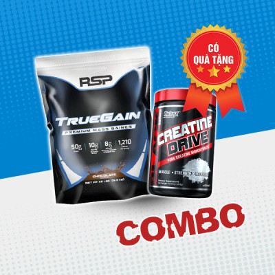True Gain 12lbs + Creatine drive 300g