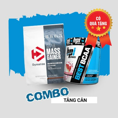 Super Mass Gainer + Best BCAA 30 servings