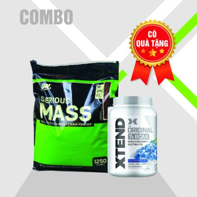 Serious mass 12lbs + Xtend BCAA 90 servings