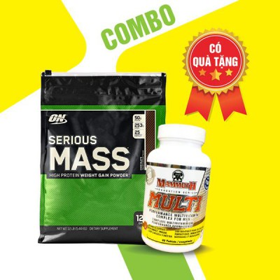 Serious mass 12lbs + Mammoth multi 30 servings