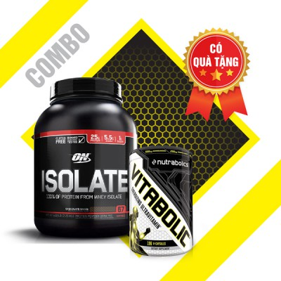 On isolate 5lbs + Vitabolic