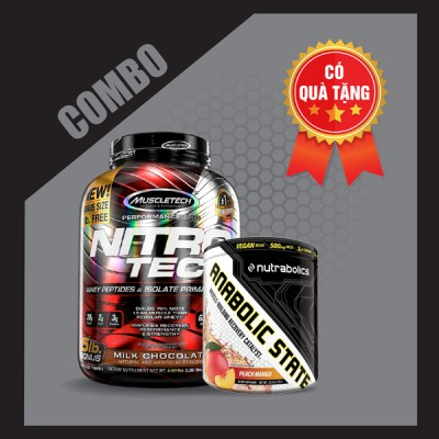 Nitrotech 5lbs + Anabolic state 30 servings