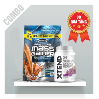 Premium mass gainer + Xtend BCAA 90 servings