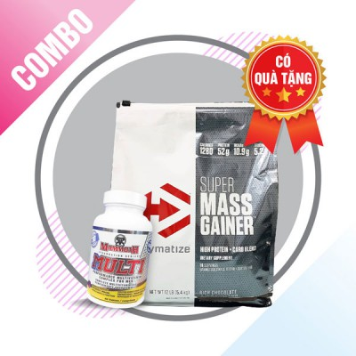 Super mass gainer + Mammoth Multi