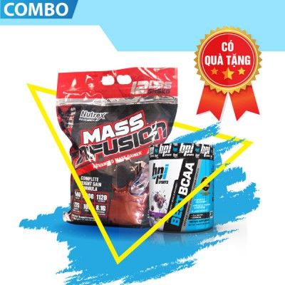 Mass infusion 12lbs + Best BCAA 30servings
