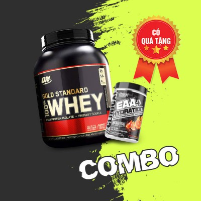 Whey Gold (5Lbs) & EAA Hydration (30 servings)