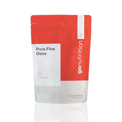GoNutrition Pure Fine Oats 2.5kg - Unflavored