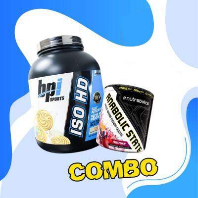 Iso HD (5lbs) + anabolic state (30 servings)